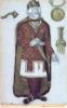 Рерих Н. К., Тристан, 1 акт, эскиз костюма (для оперы Зимина, 1912, не поставлено)